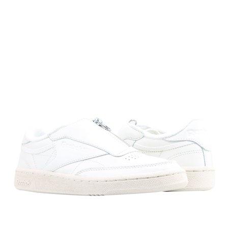 001069bbde56bd Reebok - Reebok Classic Club C 85 Zip Chalk Sand Women s Tennis Shoes BS6612  - Walmart.com
