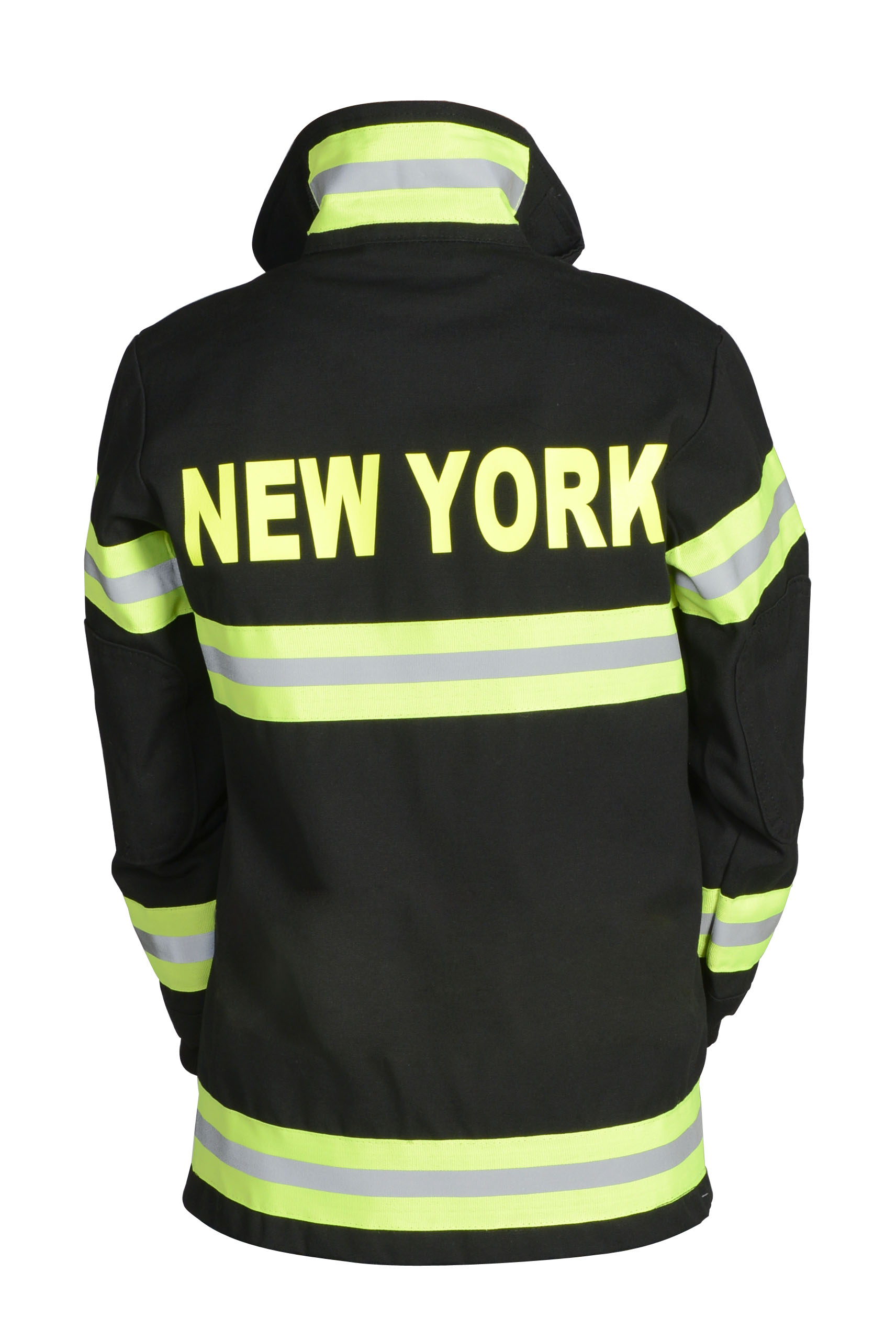 Adult Firefighter Suit-New York In Tan or Black by Aeromax