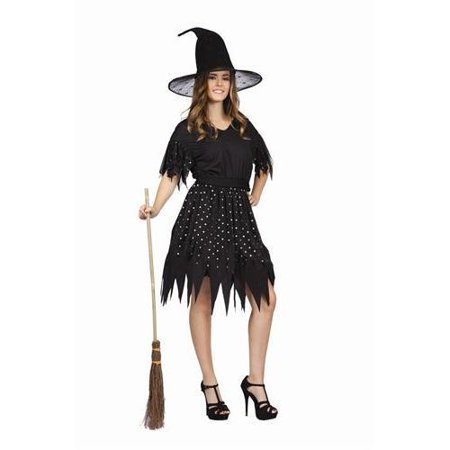 RGCostumeCostume 81167 Adult Female Gothic Witch - hat not included- Adult Std (Gothic Females)