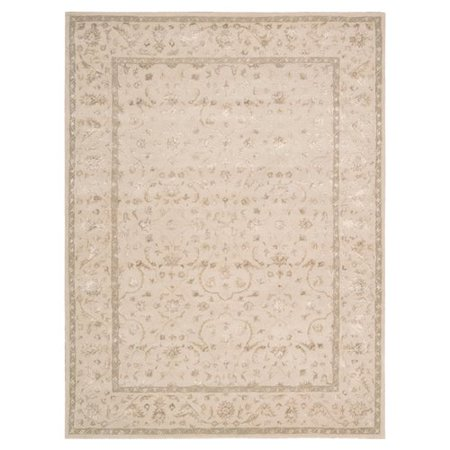 Nourison 2312 Symphony Area Rug Collection Ivory 2 Ft 3 In
