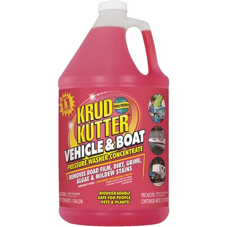 KRUD KUTTER Vehicle and Boat Cleaner,1 gal.,Bottle VB014