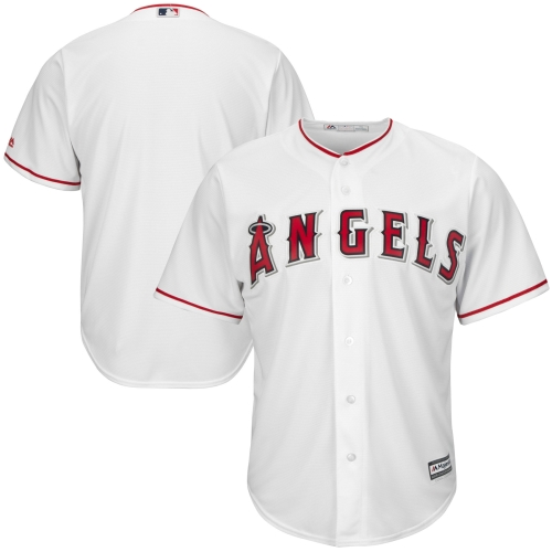 Los Angeles Angels Majestic Big & Tall Cool Base Team Jersey - White