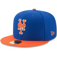 672c4dedddb Product Image New York Mets New Era Youth Diamond Era 59FIFTY Fitted Hat -  Royal Orange