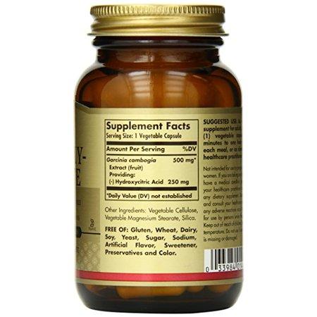 Best Solgar Hydroxycitrate HCA 60 Vegetable Capsules deal