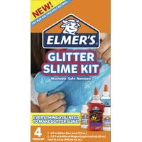 Elmer's Glitter Slime Kit, Gift for Kids, Includes Magical Liquid Glitter Glue