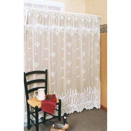 Pinecone Shower Curtain 72 x 72