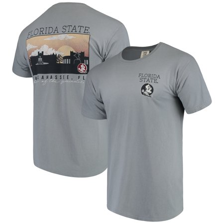 Florida State Seminoles Comfort Colors Campus Scenery T-Shirt - Gray