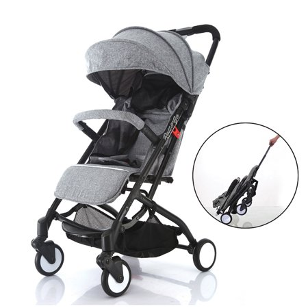 Roll & Go Lightweight , Extra Wide Seat,Full Recline,Quick EZ One Hand Fold in Seconds and