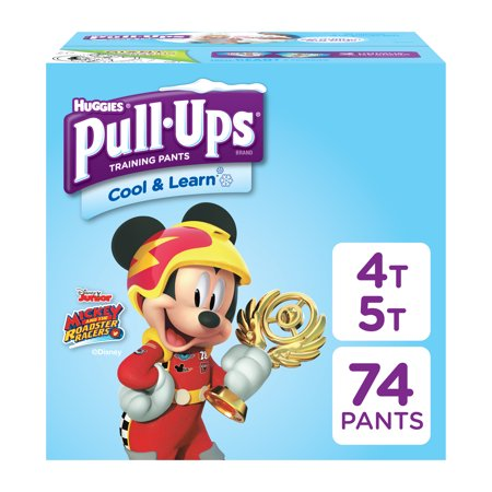 Pull-ups Boys' Cool & Learn Training Pants (Choose Size and Count) - Nylon Diaper Pants