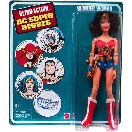 DC World's Greatest Super Heroes Retro Series 3 Wonder Woman Retro Action Figure