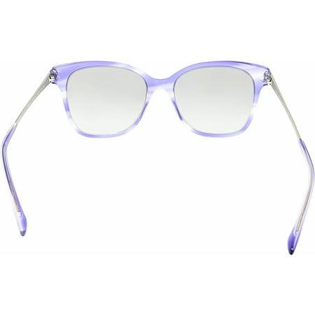 7f4af19e040a Giorgio Armani Women s Polarized AR8074-548711-54 Blue Square Sunglasses -  image 2 ...
