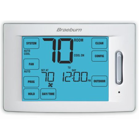 Braeburn- 6300 Touchscreen Hybrid Universal 7, 5-2 Day or Non-Programmable 4H / 2C (Pack of 6)