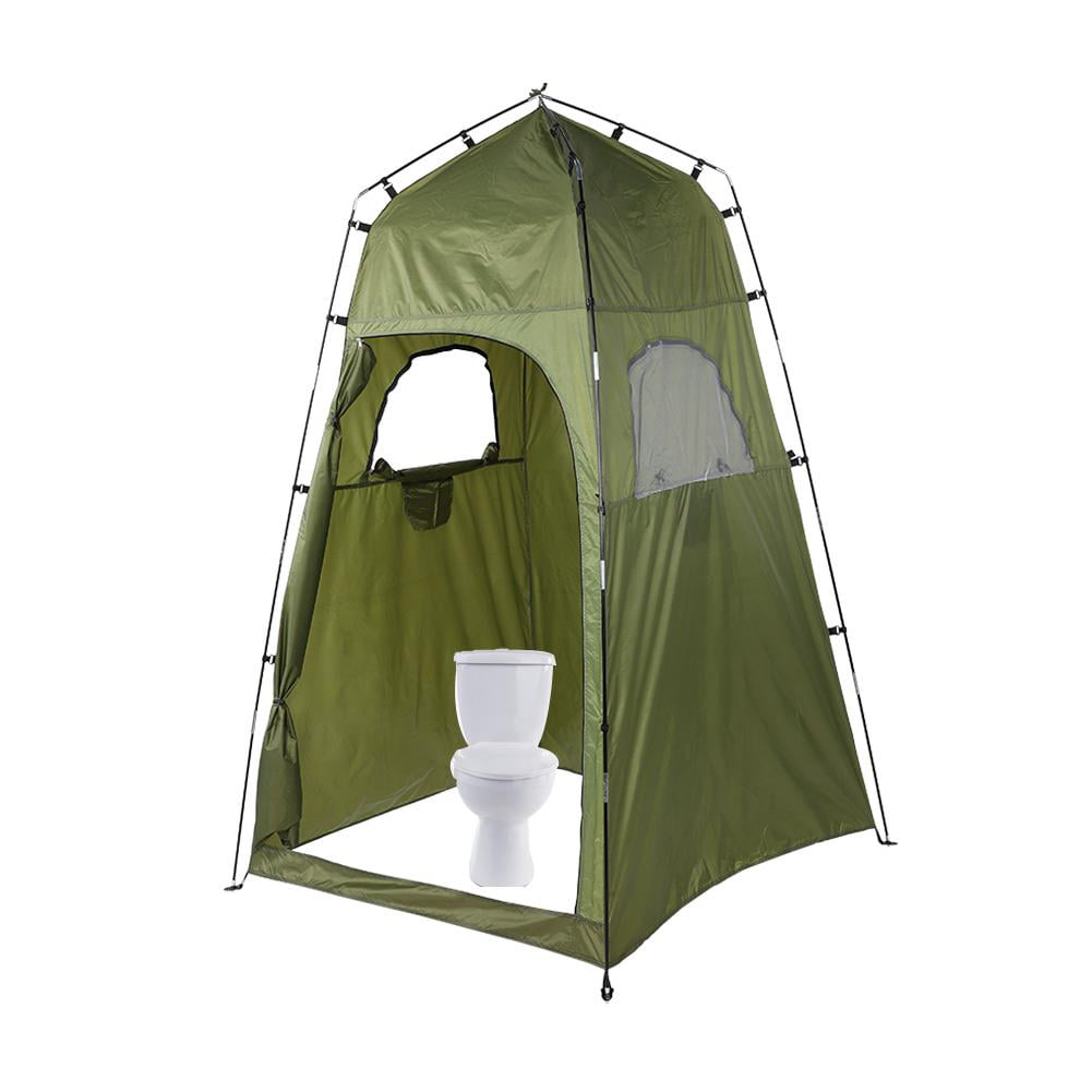 Herwey Portable Outdoor Shower Tent Camping Shelter Beach ...