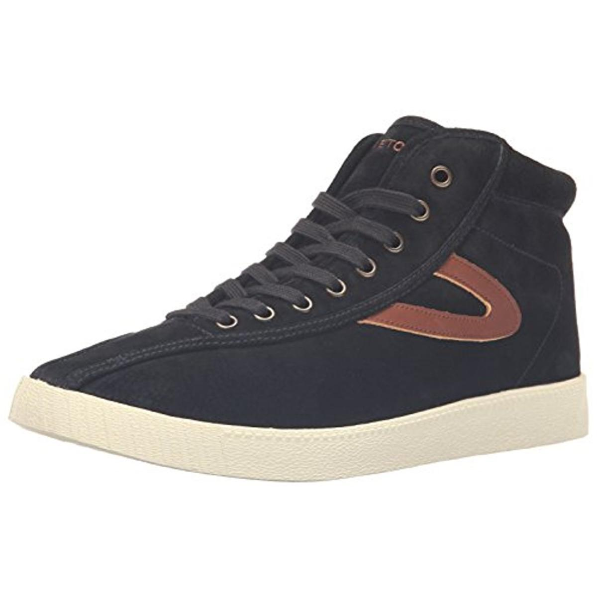 Click here to buy Tretorn Mens Nylite Hi7 Suede Hi Top Fashion Sneakers by Tretorn.