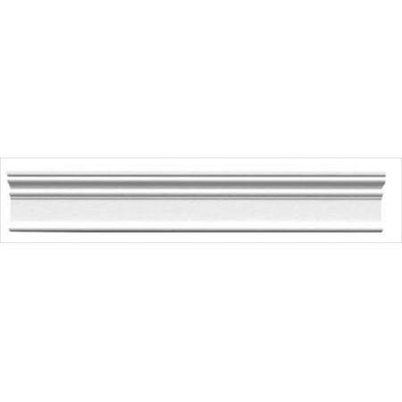 American Pro Decor 5APD10204 94 5 x 3 5 in Plain Panel Moulding