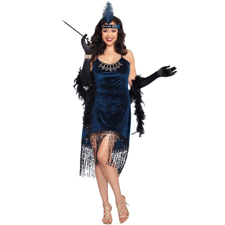 Downtown Doll Plus Costume - Size 3x/4x Womens Halloween Costumes