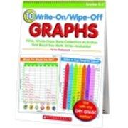 Scholastic Write On & Wipe Off Graphs Flip Chart