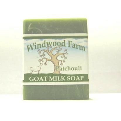 Windwood Farm Goat Milk Soap Patchouli 4 oz Hand Made