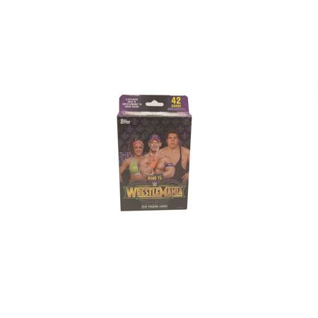Classic Wrestling Card (18 Topps WWE Wrestling Road to WrestleMania Hanger Box Trading Cards)