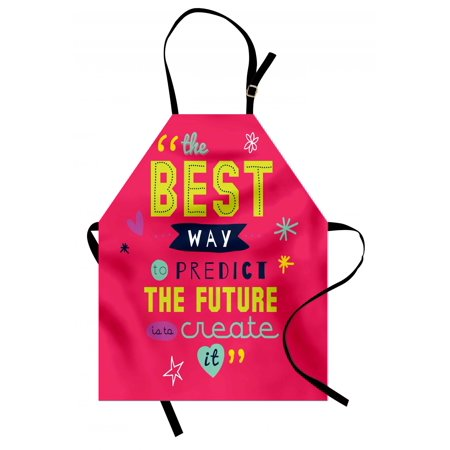 Quotes Apron Motivational Typography