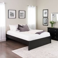 Prepac Queen Select 4 post Platform Bed Black