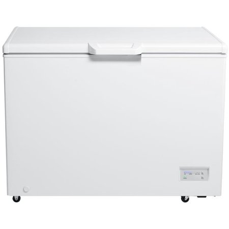 CF106B0W 44 Chest Freezer with 11 cu. ft. Capacity  Manual Defrost System  Electronic Temperature Control  Compressor Running Indicator light  2 Casters  and 2 Removable Storage Baskets: White ()