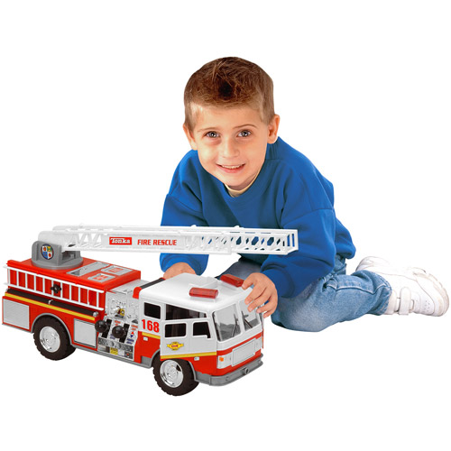 Tonka Mighty Motorized Fire Engine Vehicle