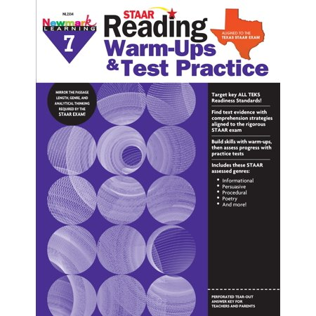 Staar : Reading Warm Ups and Test Practice G7 (Daily Warm Ups)