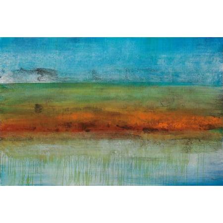 Brisbane Stretched Canvas - Brent Foreman (24 x (Indian Store Brisbane)