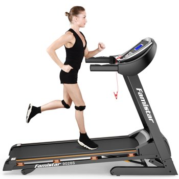 Famistar 3.25HP Portable Folding Electric Treadmill