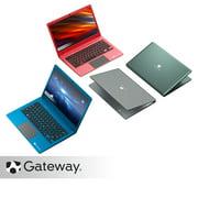"Gateway 11.6"" Ultra Slim Notebook, HD, Intel® Celeron®, Dual Core, 64GB Storage, 4GB RAM, Mini HDMI, 1.0MP Webcam, Windows 10 S, Microsoft 365 Personal 1-Year Included, Charcoal"