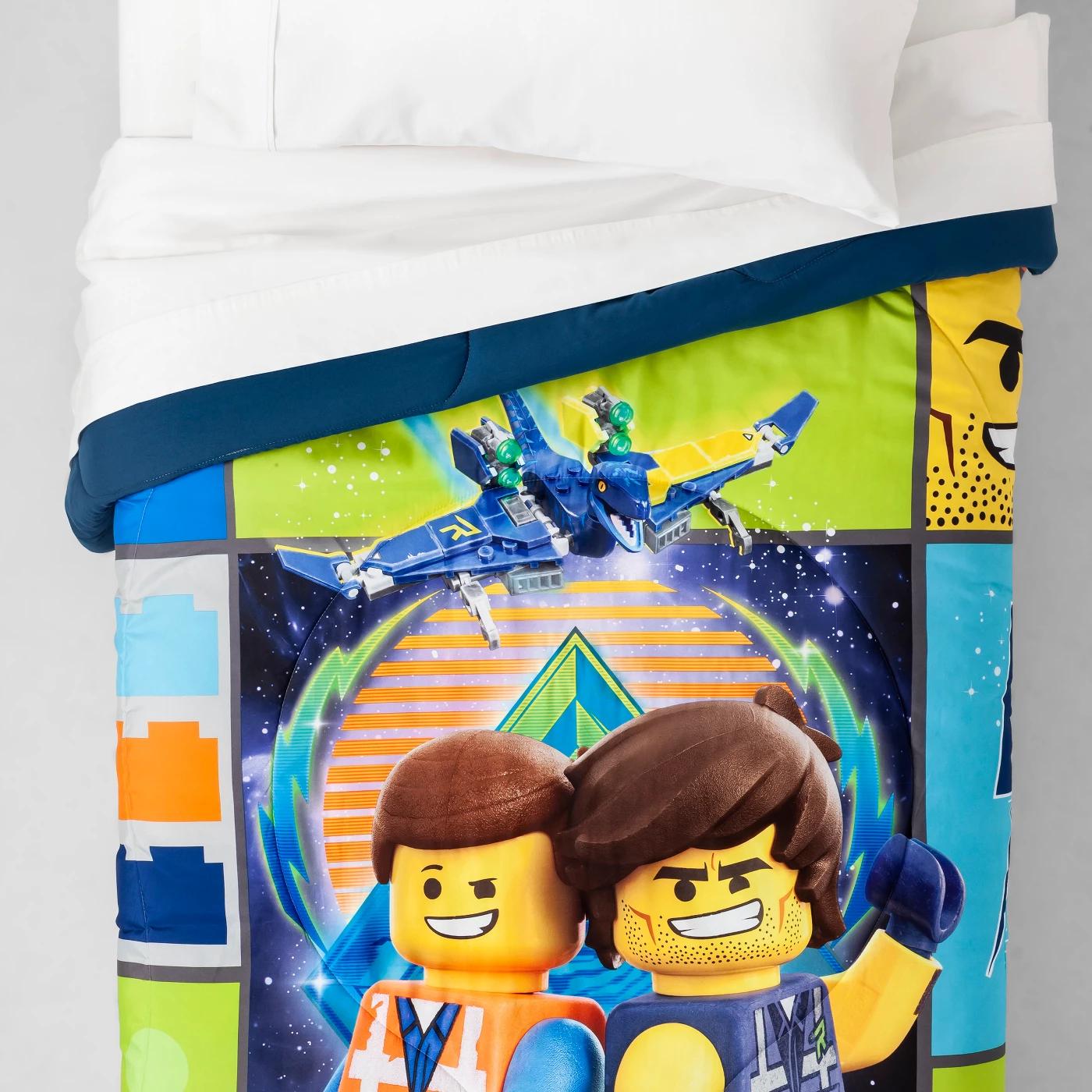 Lego Movie 2 Galactic Duo Twin Reversible Comforter