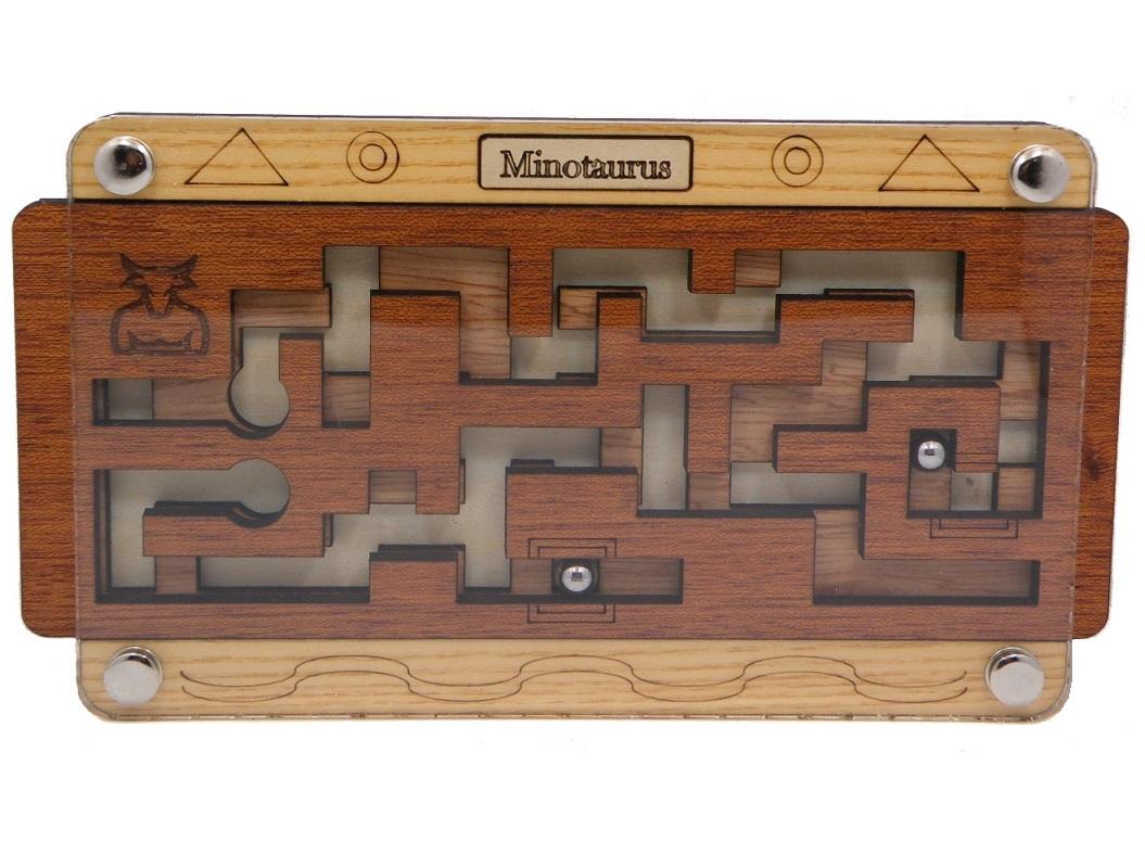Minotaurus Maze Brain Teaser Wooden Puzzle by Siebenstein Spiele