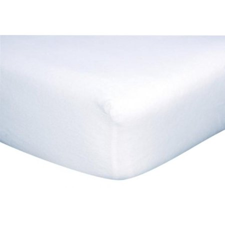 White Flannel Deluxe Flannel Fitted Crib Sheet Walmart Com