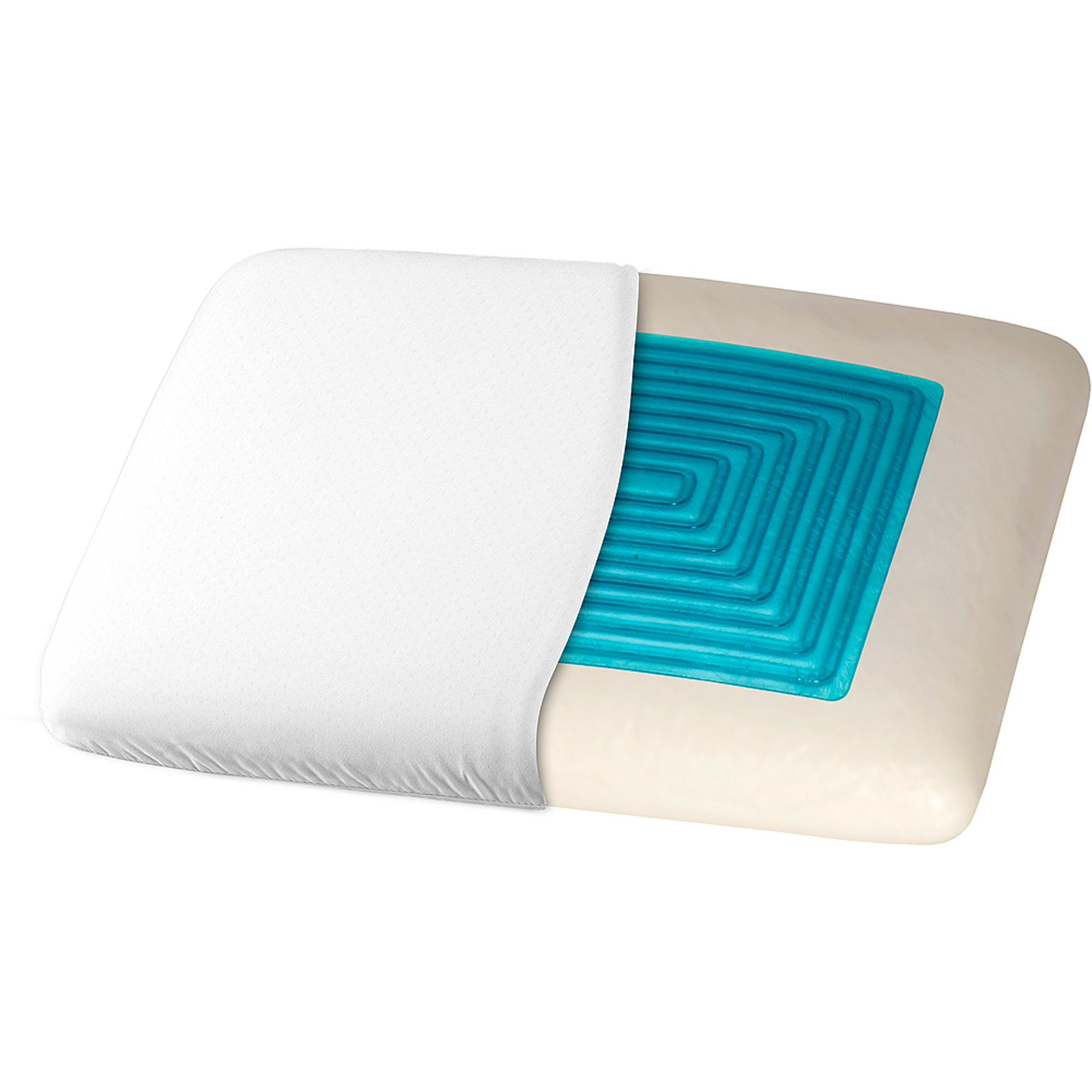 Dream Serenity Trugel Memory Foam Pillow  Walmart.com