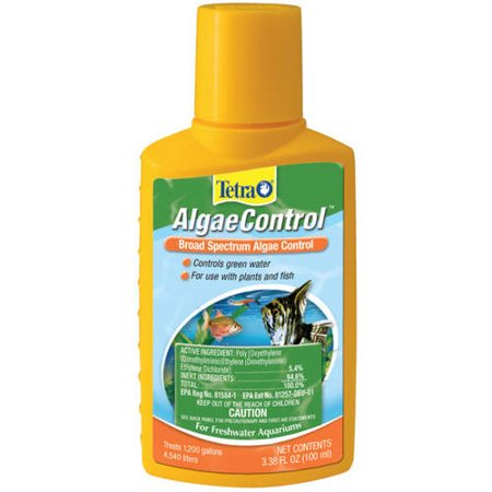 - (3 Pack) Tetra Algae Control Water Treatment for Aquarium, 3.38-Ounce