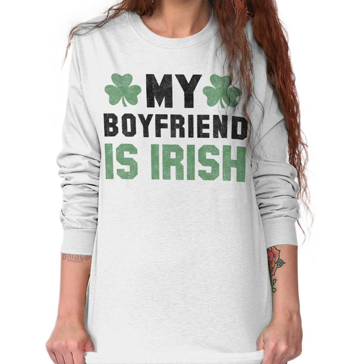 My boyfriend is irish