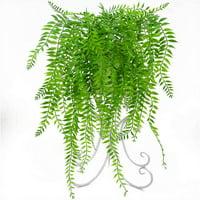 AkoaDa Artificial Plants Ivy Vine Fake Flower Rattan Wall Hanging Basket