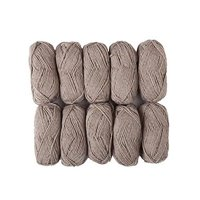 Knit Picks Wool of Andes Worsted Weight Yarn 10-Packs Mink Heather Needlecrafts