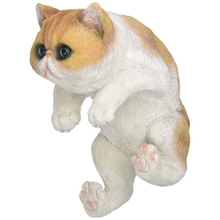 Tom Lehman Memorabilia - Memorabilia Climbing Big-Eyed Kitten Giles Decor, 7 x 5 x 9.8 By Tom Co