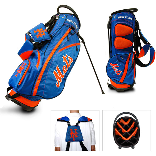 MLB New York Mets Fairway Golf Stand Bag