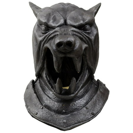 Game of Thrones Adult The Hound Helmet Halloween Costume - Diy Hunger Games Costumes