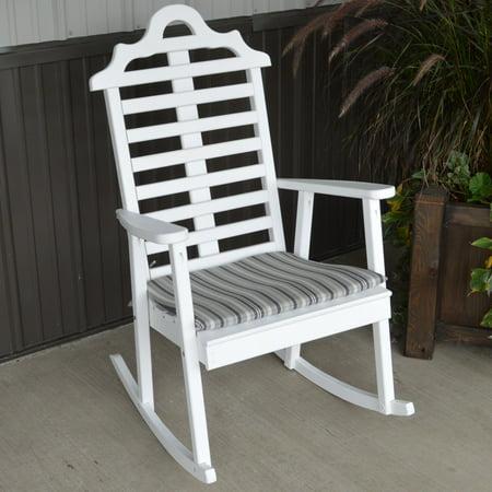 A & L Furniture Sundown Agora Rocker Outdoor Seat Cushion ()