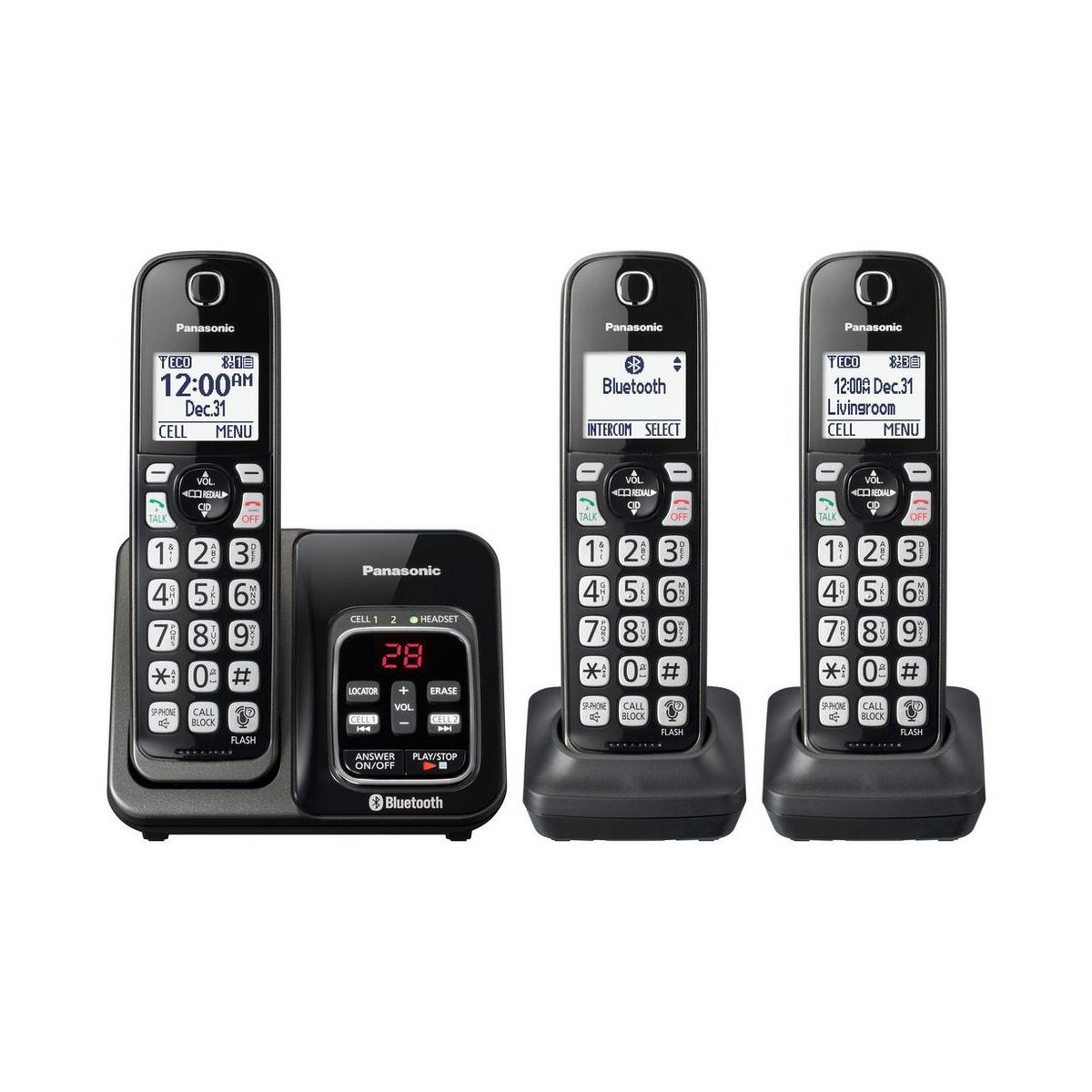 Telephone, Bluetooth Cordless With Voice Assist Telephone