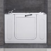 Aston  50x30-inch White Jetted Walk-in Tub