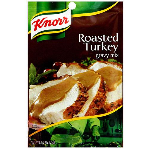 Knorr Roasted Turkey Gravy Mix, 1.2 oz (Pack of 12)