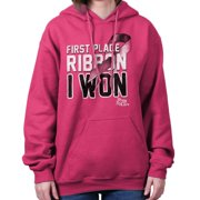 Breast Cancer Awareness Shirt | First Place Ribbon Pink BCA Hoodie Sweatshirt