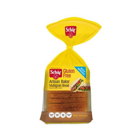 Schär Gluten Free Artisan Baker Multigrain Bread, 14 1 oz