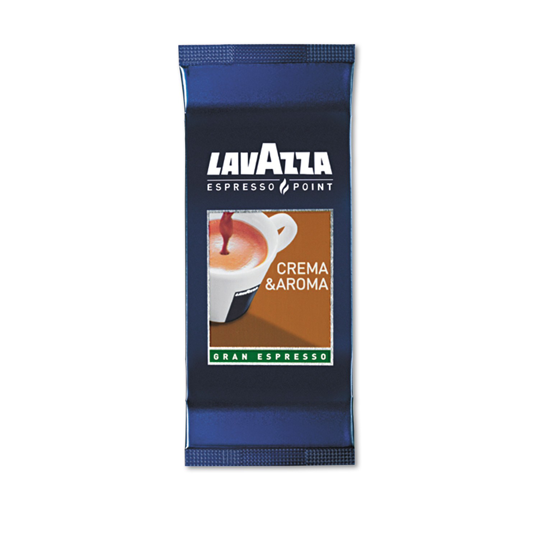 Lavazza Crema Aroma Arabica/Robusta Espresso Point Cartridges, 100ct