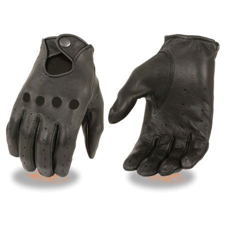Milwaukee Leather Women's Deerskin Leather Driving Gloves  -